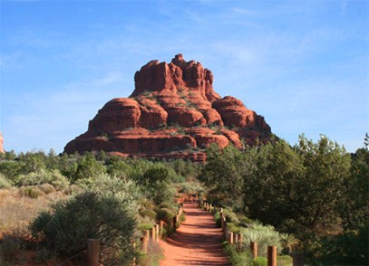 bell rock in the sedona vortexes