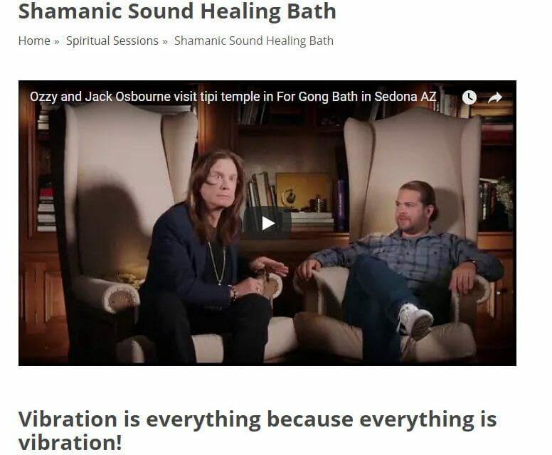 Shamanic Sound Bath With Ozzy