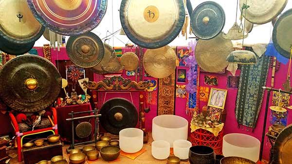 Sedona Sound Healing instruments